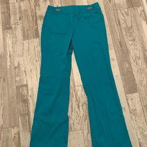 Dress pants, bright blue